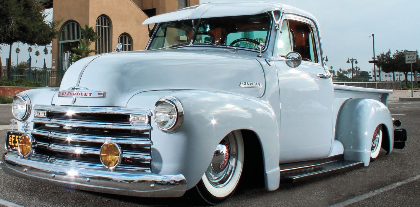 1953 Chevy Pickup Lowrider Maintenance Restoration Of Old Vintage