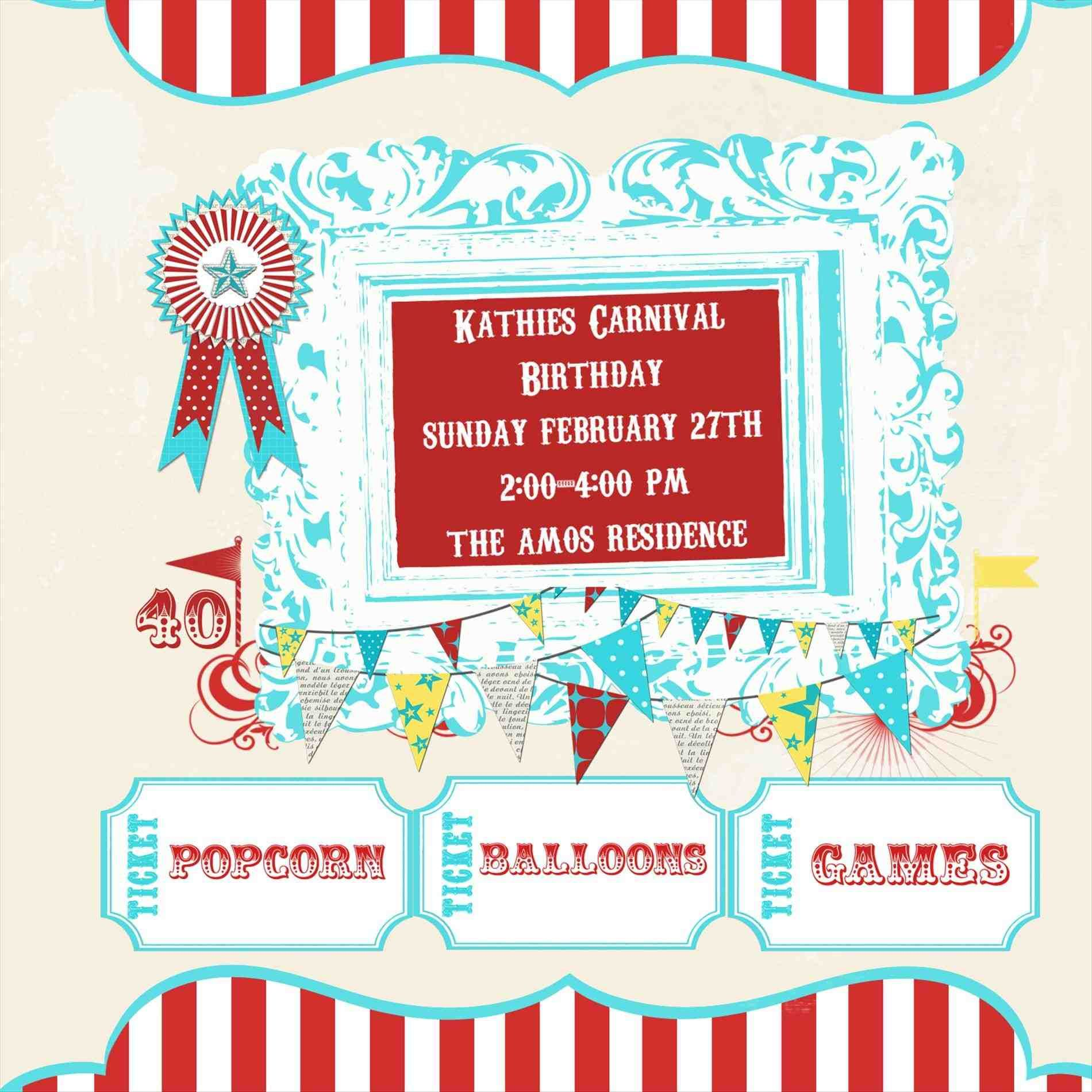 carnival invites, ticket booth cutouts, carnival svg ...