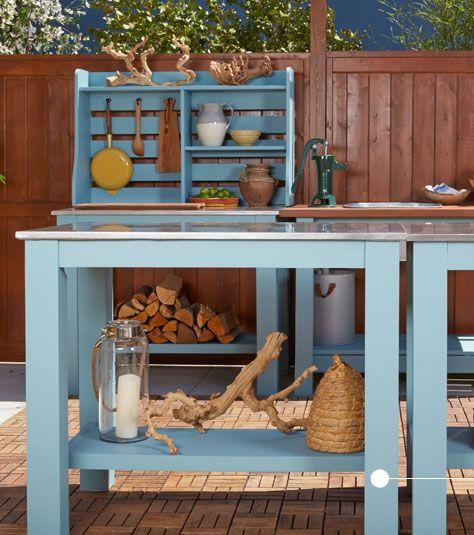The Kitchen Food Network Set Backyard Design Ideas From Food Network's The Kitchen  Behr