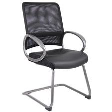 Mesh Guest Chair with Loop Arms