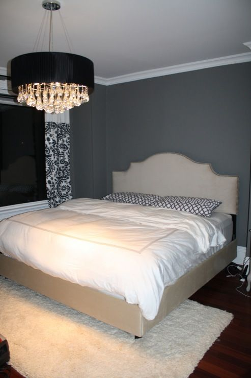 Charcoal Gray Paint Color   Contemporary   Bedroom   Benjamin Moore Asphalt    Life Begins At Thirty?