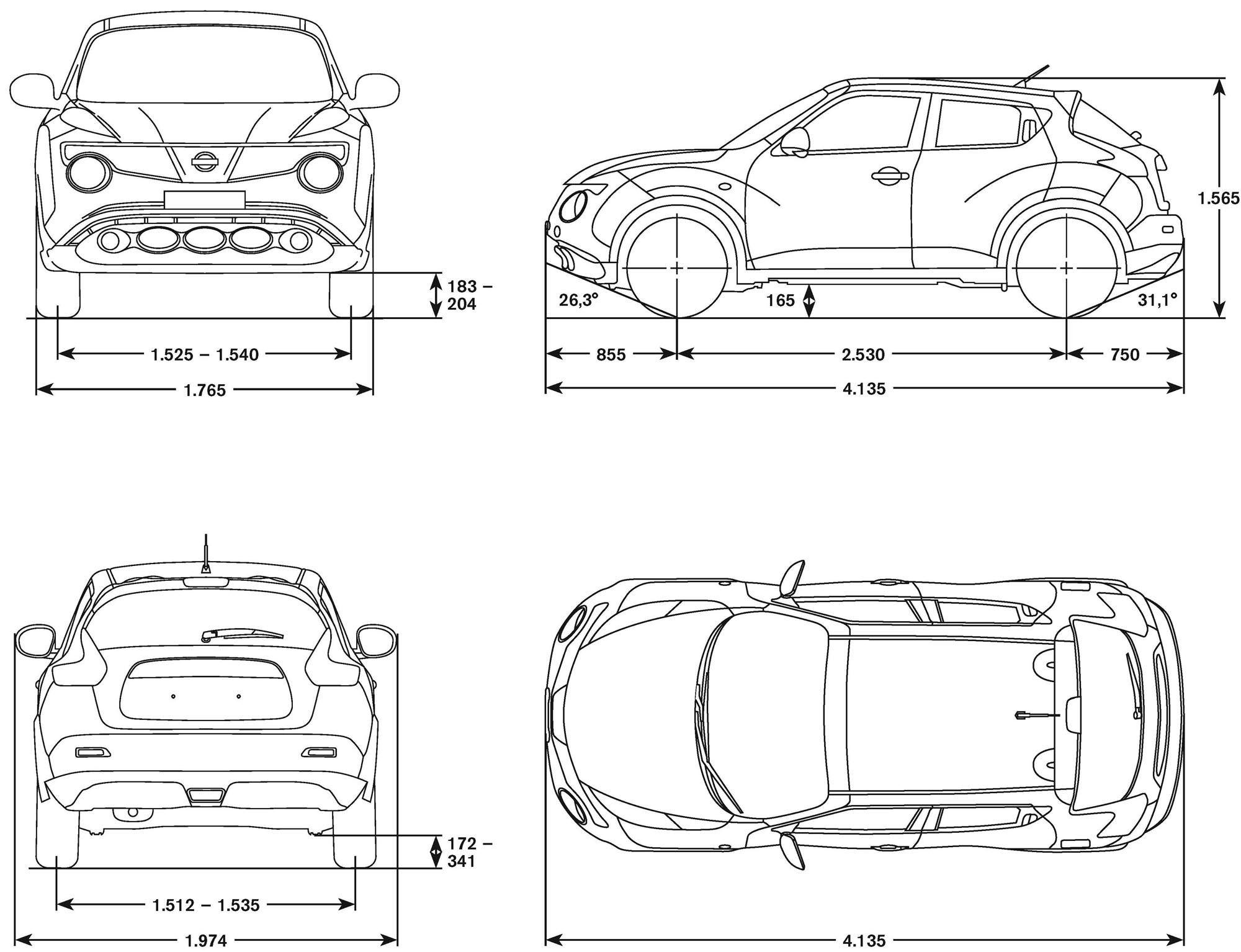 Nissan Juke 2 000 1 534 Pixels
