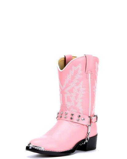 Girl's Pink Rhinestone Boots love Love LOVE these!!