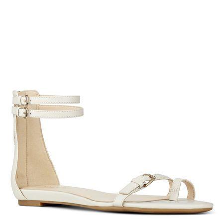 Onque Flat Sandals Women Shoes Ankle Strap Sandals Flat Shoes