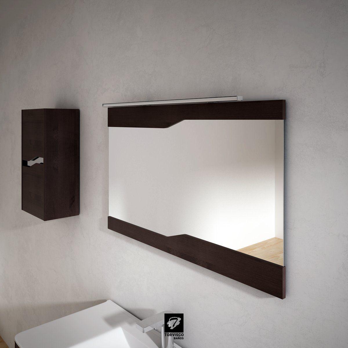 Detalle Del Espejo Natura Fabricado Por Torvisco Group A Juego Con  # Mueble Loa Torvisco