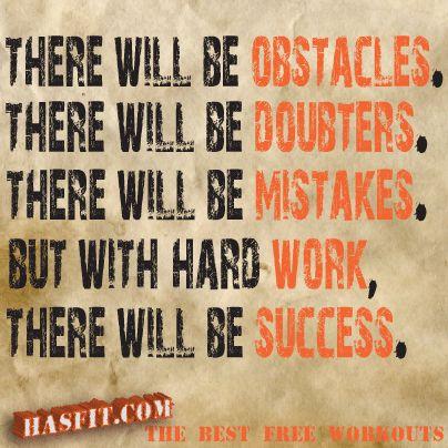 Determination and dedication