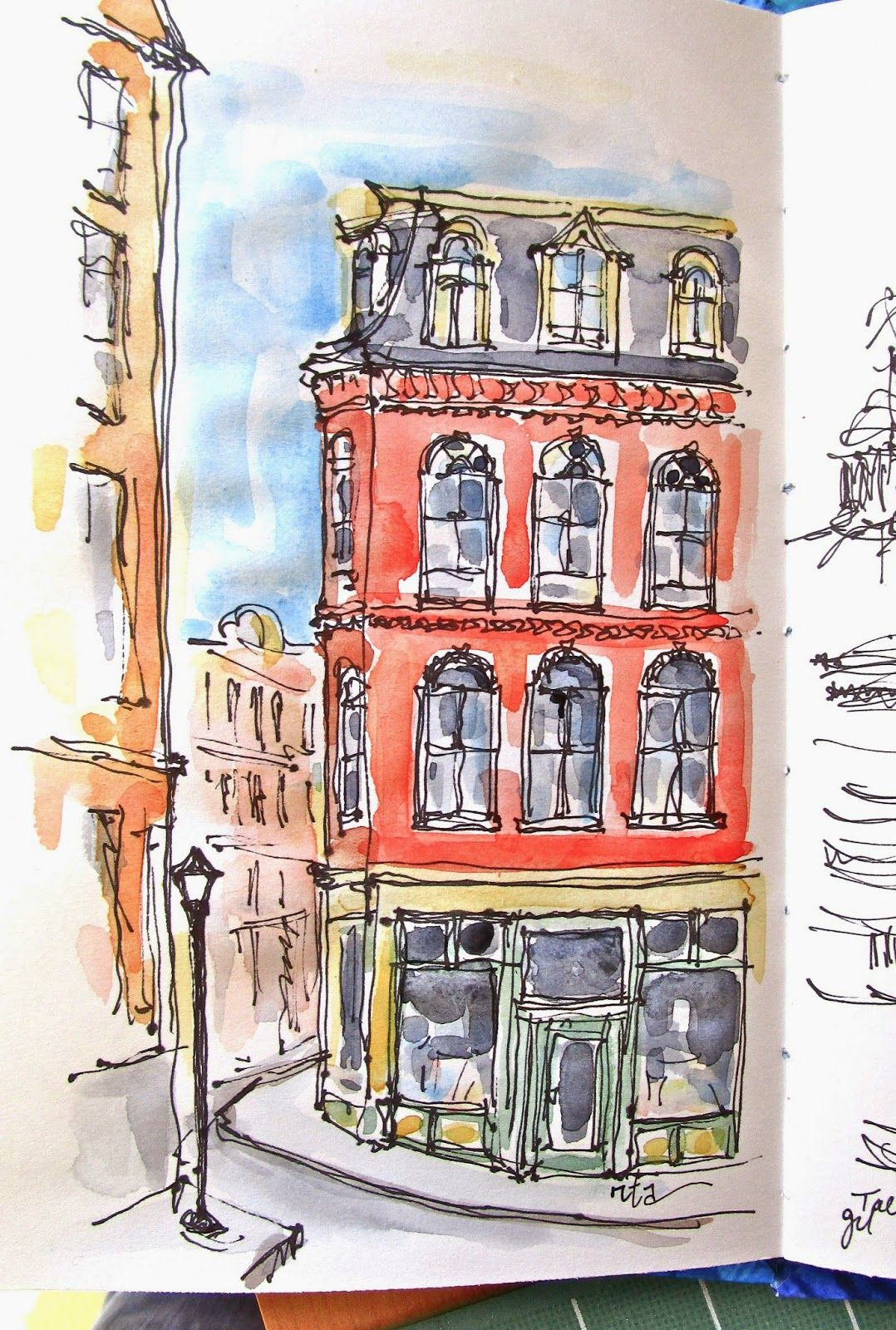 Sketchbook Wandering By Rita I Love Portland Maine