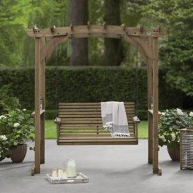Backyard Discovery Deluxe Pergola Swing - Sam's Club in ... on Backyard Discovery Pavilion id=82593