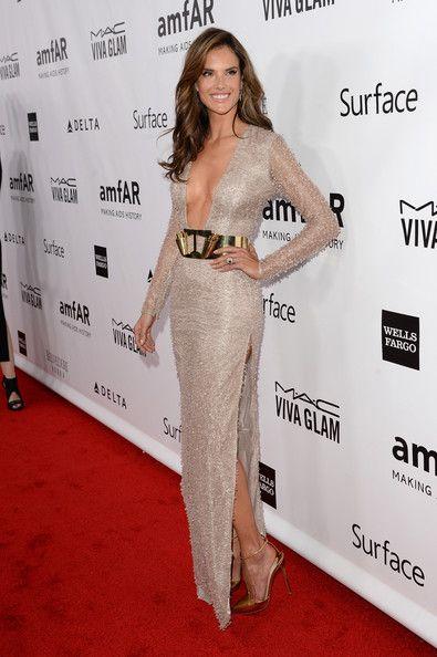 Alessandra Ambrosio Evening Dress