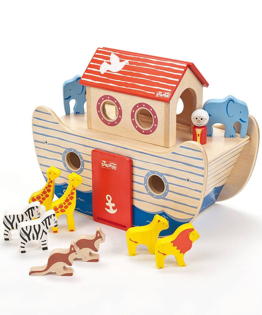 Look at this 13-Piece Noah's Ark Play Set on #zulily today!