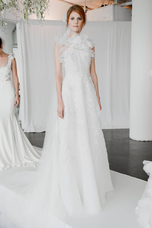 New york bridal week fall marchesa wedding dresses