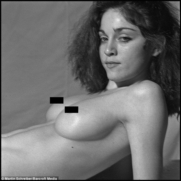lost nudes' show 20-year-old madonna get full-frontal as a life