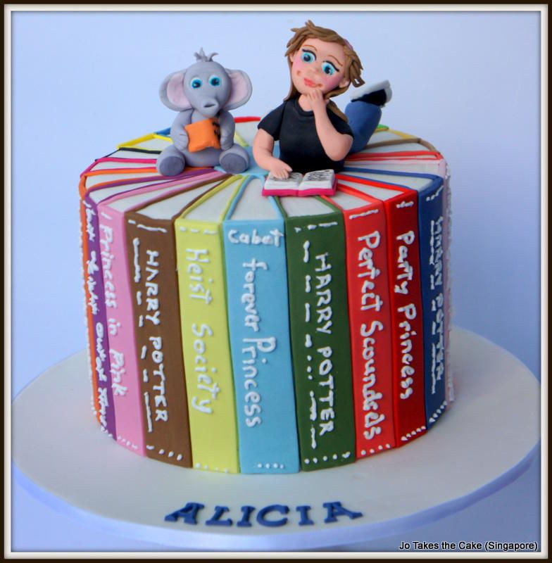 Book cake cake by jo finlayson jo takes the cake