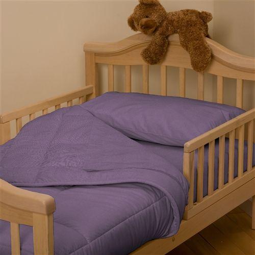 Solid Aubergine Purple Toddler Bedding Toddler Bed Set Purple