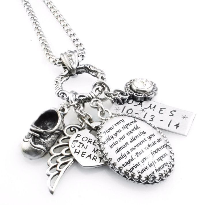 Loss of baby miscarriage jewelry loss of child personalized loss of baby miscarriage jewelry loss of child personalized miscarriage jewelry grief quote necklace blackberry designs jewelry memory loss aloadofball Images