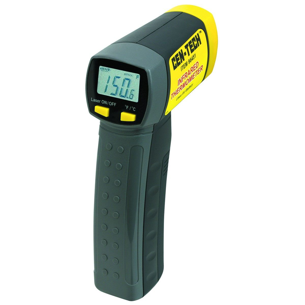 A ghost hunting laser ir digital thermometer is a vital