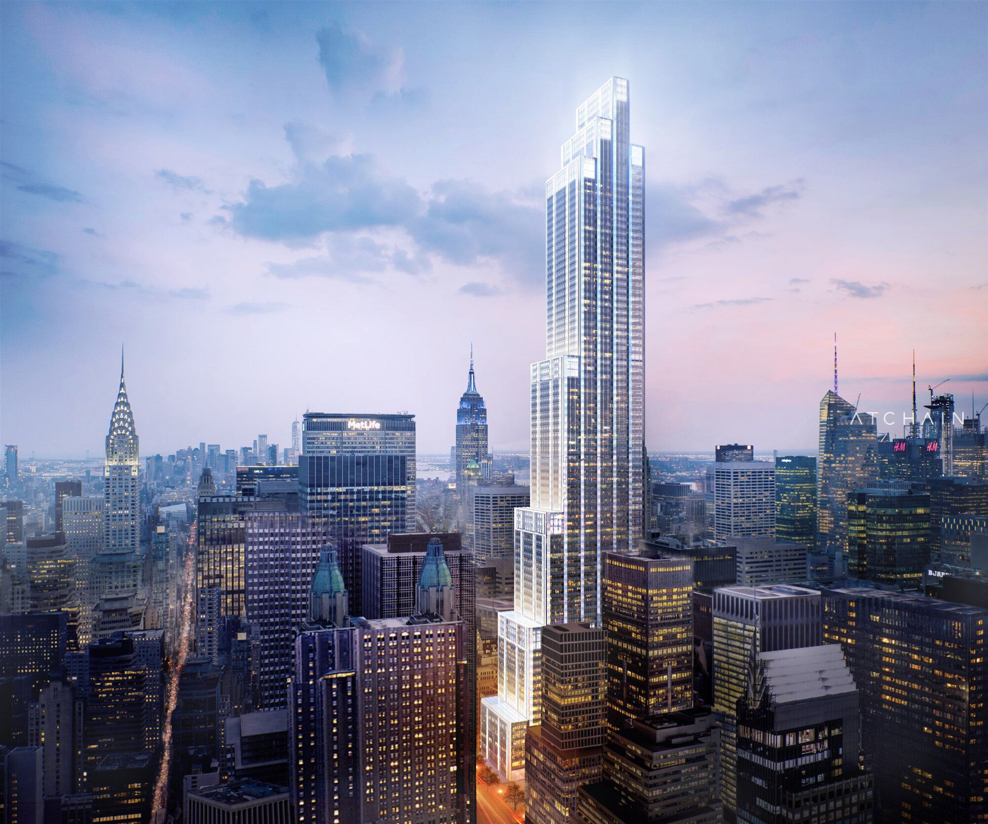 Yimby Has Another New Rendering For Foster Partners Supertall 270 Park Avenue Jpmorgan Chase S Future He Skyscraper Architecture Park Avenue Jpmorgan Chase