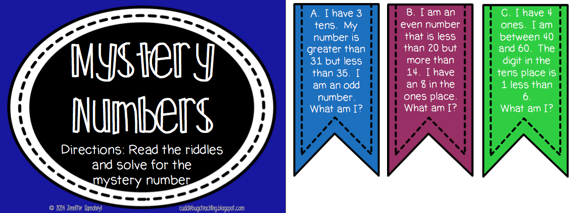 mystery numbers number riddles TpT http//www