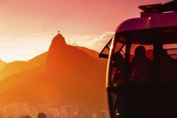 Excursão ao Cristo Redentor com opção de pôr do sol no Pão de Açúcar