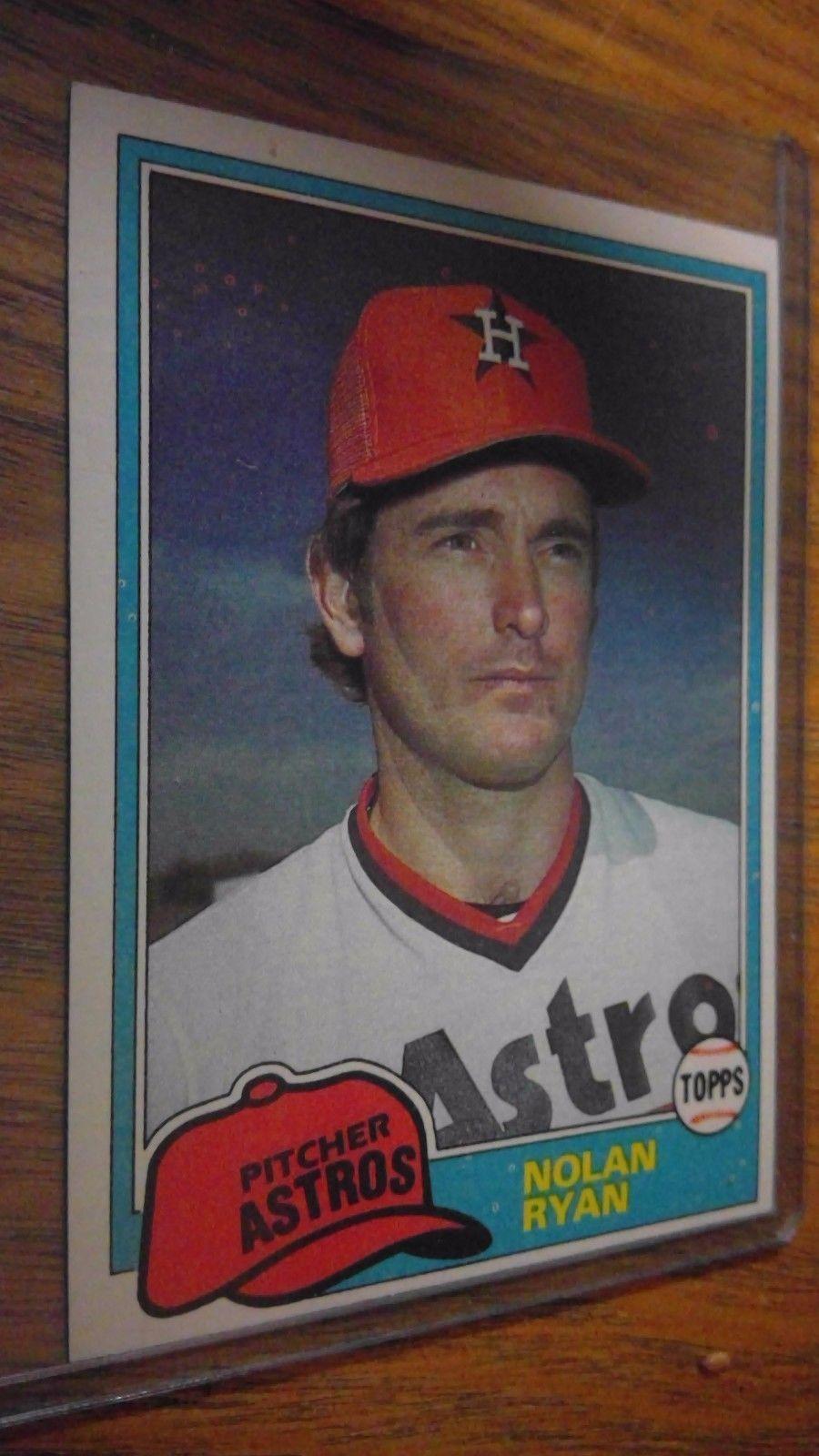 1981 topps nolan ryan houston astros 240 baseball card