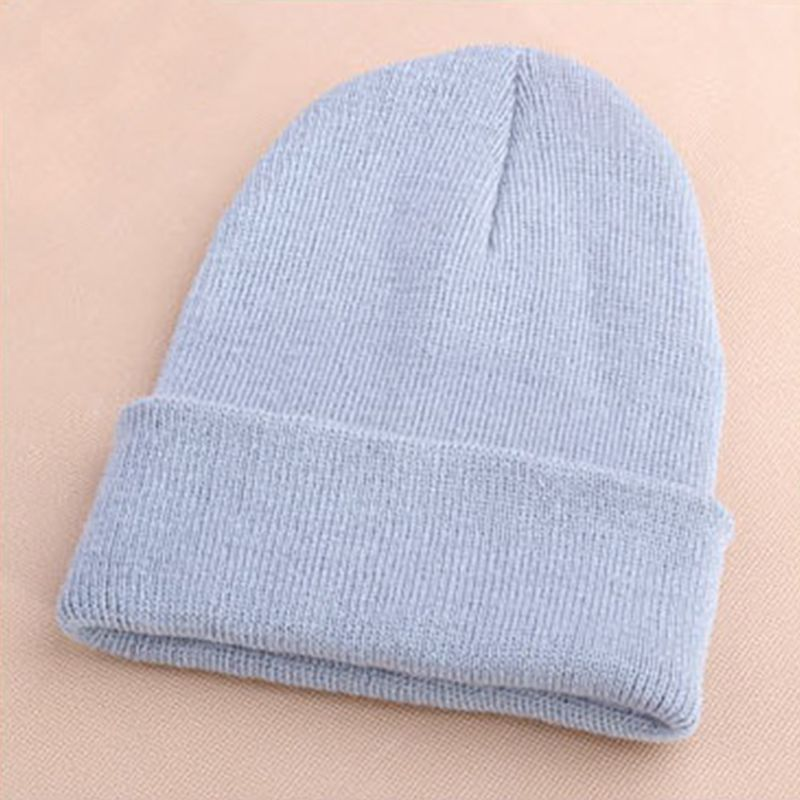 8119a3fbaae Unisex Wool Hat Men s Women Beanie Knit Ski Cap Hip-Hop Blank Color Winter  Warm WA985 P50                Click on the pin to check out discount price