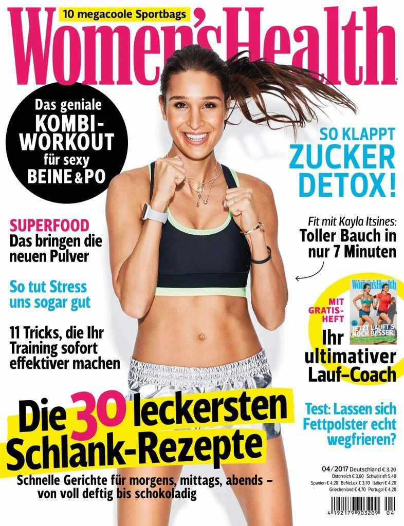 Women's Health – It's good to be you! Das Magazin voller Ideen und Inspiration für Frauen, die mit großem Spaß in Sachen Fitness, Ernährung, Beauty und aktivem Lifestyle vorn dabei sein wollen!