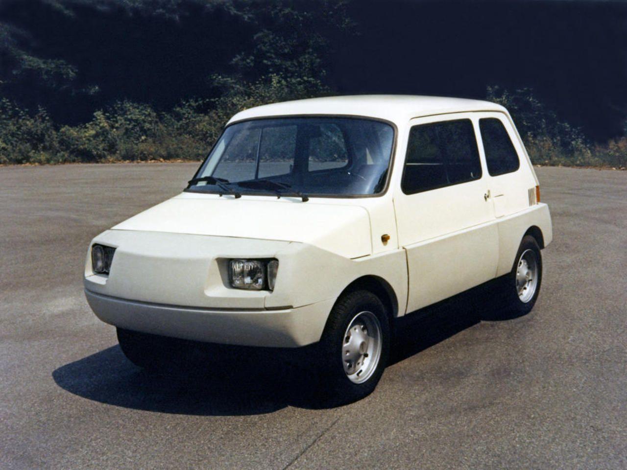 Richard Sapper X 126 Softnose 1974 Concept Cars Vintage Fiat Fiat 126