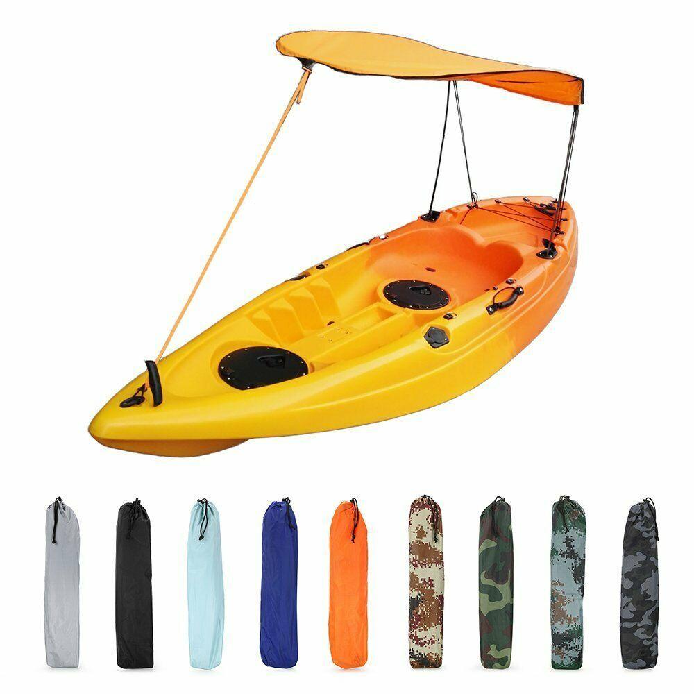 Universal Durable Single Person Kayak Canoe Sun Shade Awning Canopy Rain Shelter 45 39 20l 30l Waterproof Dry Canoe Accessories Kayak Accessories Kayaking