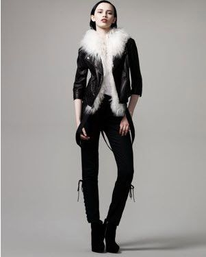 Bird by Juicy Couture | Apparel | Maya Leather Miller Jacket