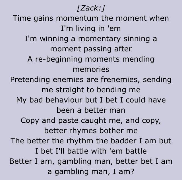 Zacks Rap In Kitchen Sink I Can Finally Do It Now Hoooooowwwwwwwwwwwwwww Im A Decent Rapper And Twenty One Pilots Lyrics Twenty One Pilots Music Is Life