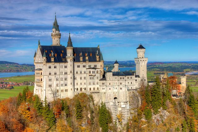 Schloss Neuschwanstein From Marienbrucke Germany Castles Neuschwanstein Castle Best Places To Travel