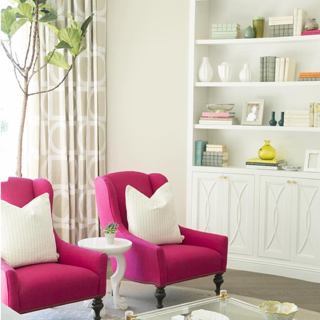 Pink perfection for Pink Peonies creator Rachel Parcell. Designed by Caitlin Wilson Interiors. #leeindustries