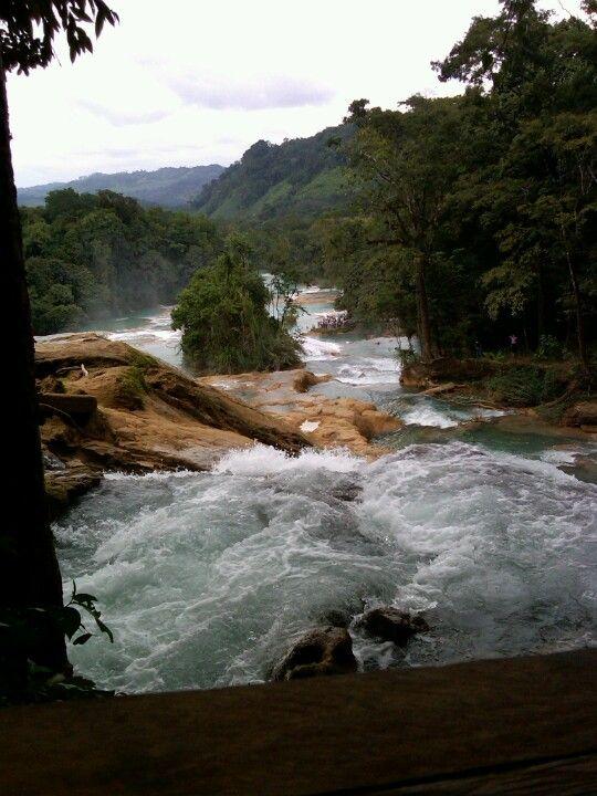Cascadas Agua Azul, México