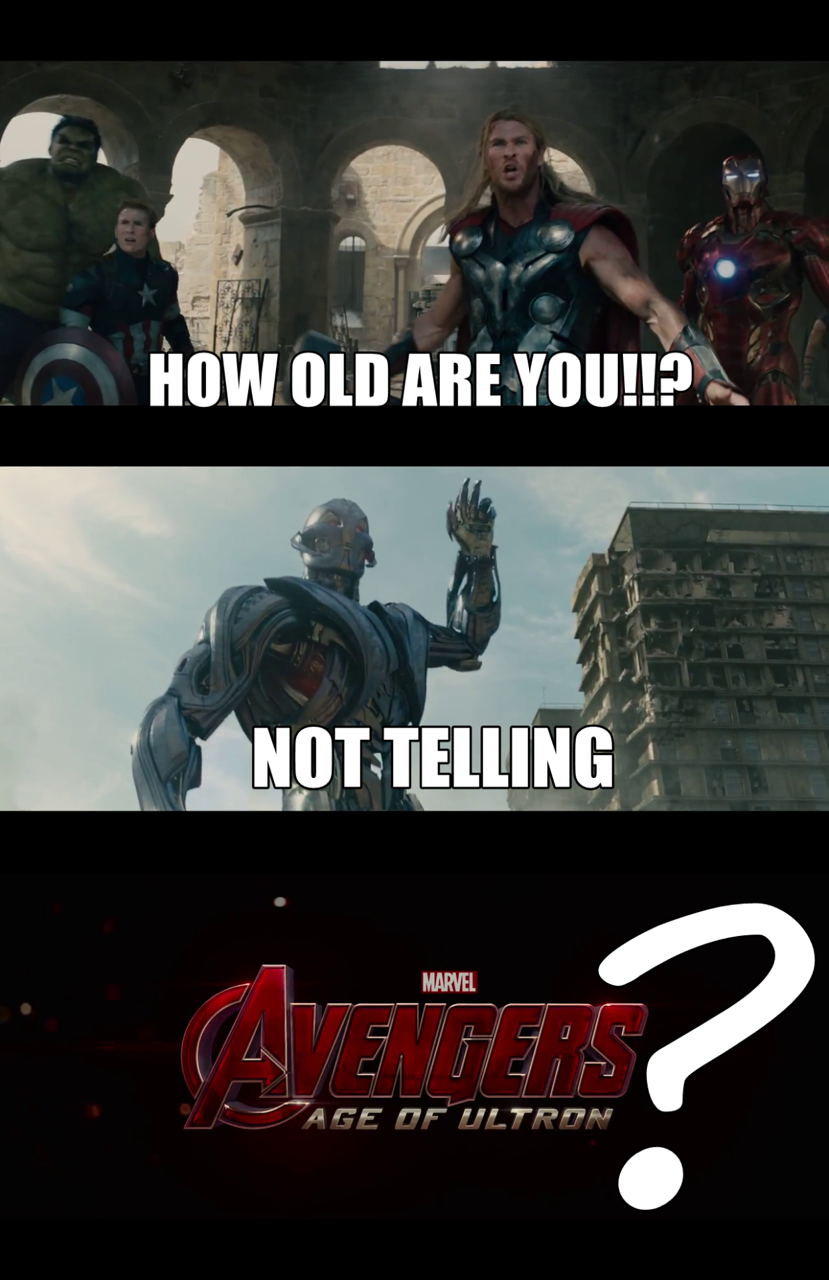 Age of Ultron?