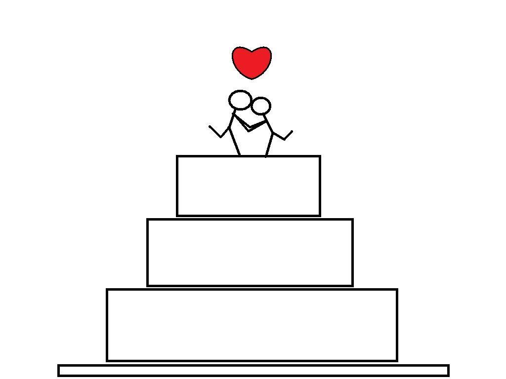 wedding cake drawing Wallpapers