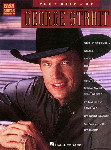 Best of George Strait Easy Guitar Tab Sheet Music Chords Country