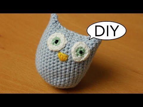 Amigurumi Eule häkeln *ganz einfach* Do it yourself - YouTube ...