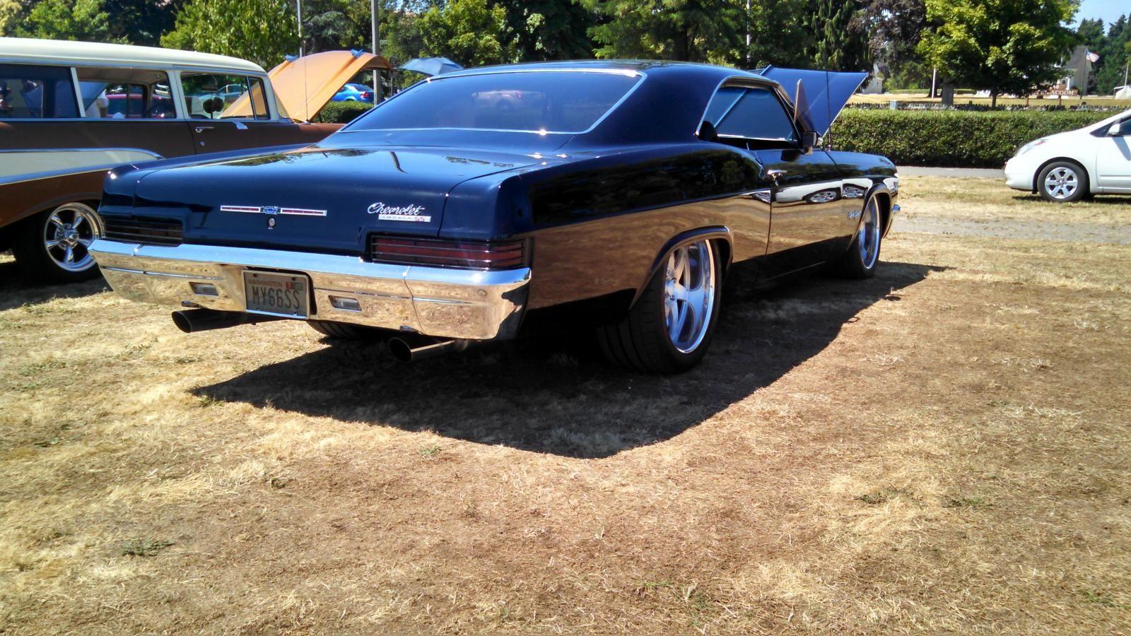 Pin On Black Pro Touring Chevys