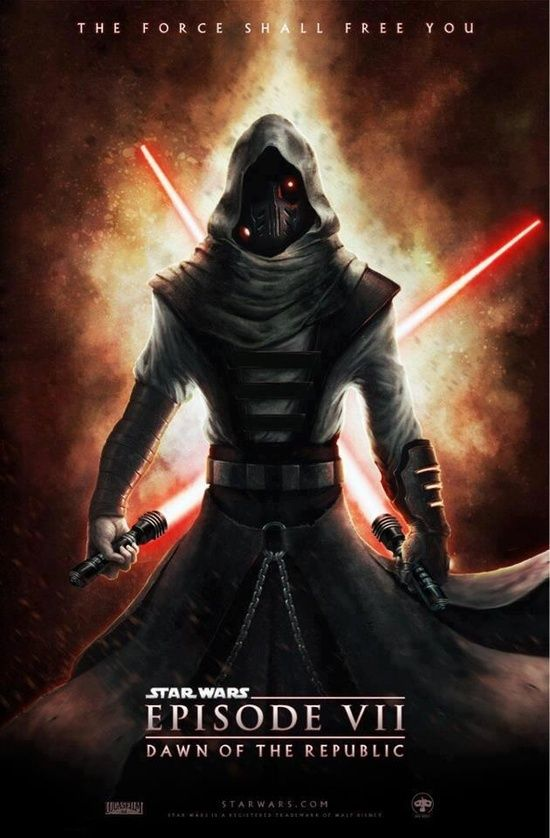 star wars episode 7 fan poster sith lord twin lightsabers movies imdb pinterest fan. Black Bedroom Furniture Sets. Home Design Ideas