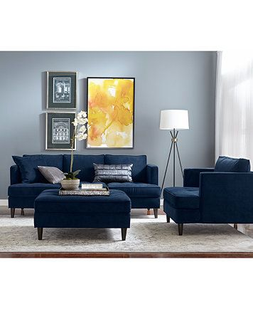 Marvelous Swan Fabric Sofa Only At Macys Furniture Macys In Machost Co Dining Chair Design Ideas Machostcouk