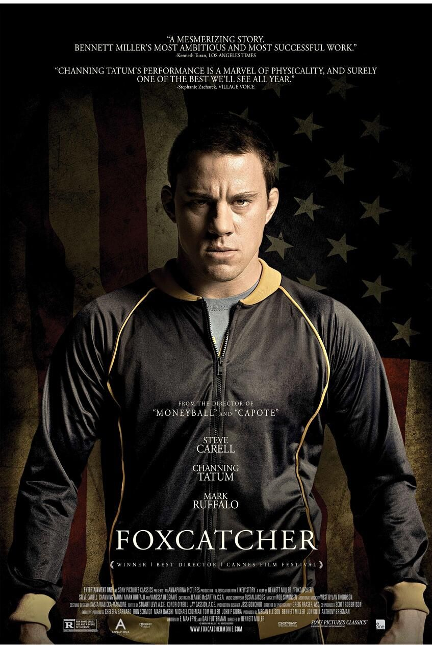 The New Trailer For Foxcatcher Has What You Always Want More