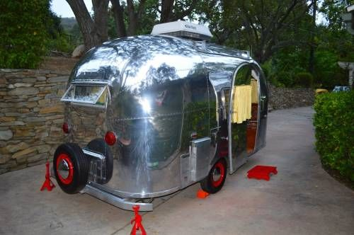 1961 Airstream Bambi 16 With Air And Awning Tct
