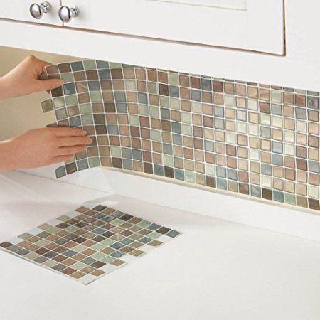 Home Improvement Mosaic Backsplash Stick Tile Backsplash