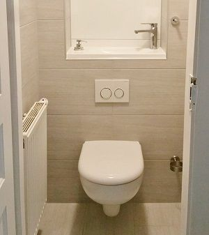 Pose D 39 Un Wc Suspendu Wici Concept Idee Toilettes Wc
