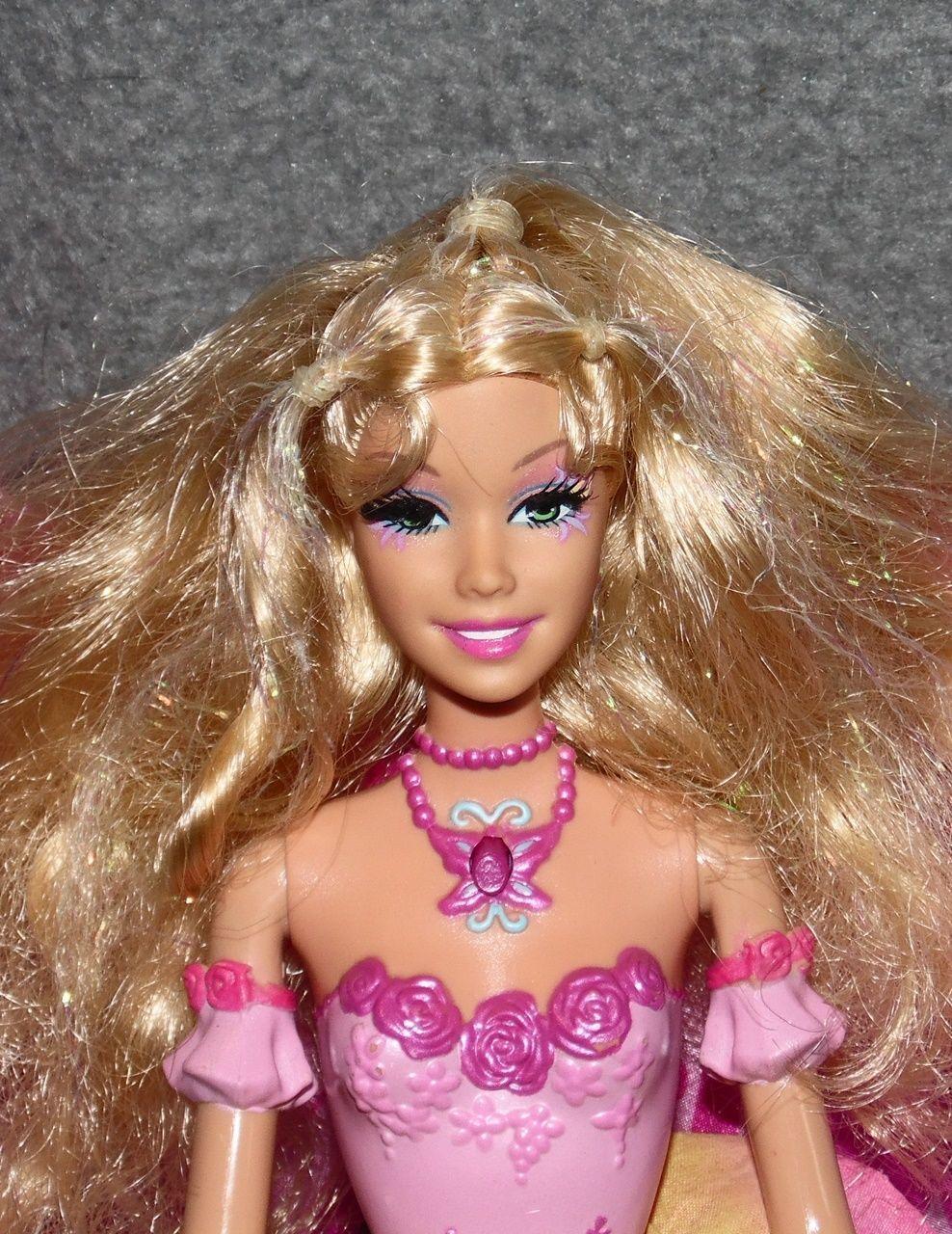 barbie fairytopia elina mermaidia meerjungfrau schmetterling puppe mattel fee 6 ebay