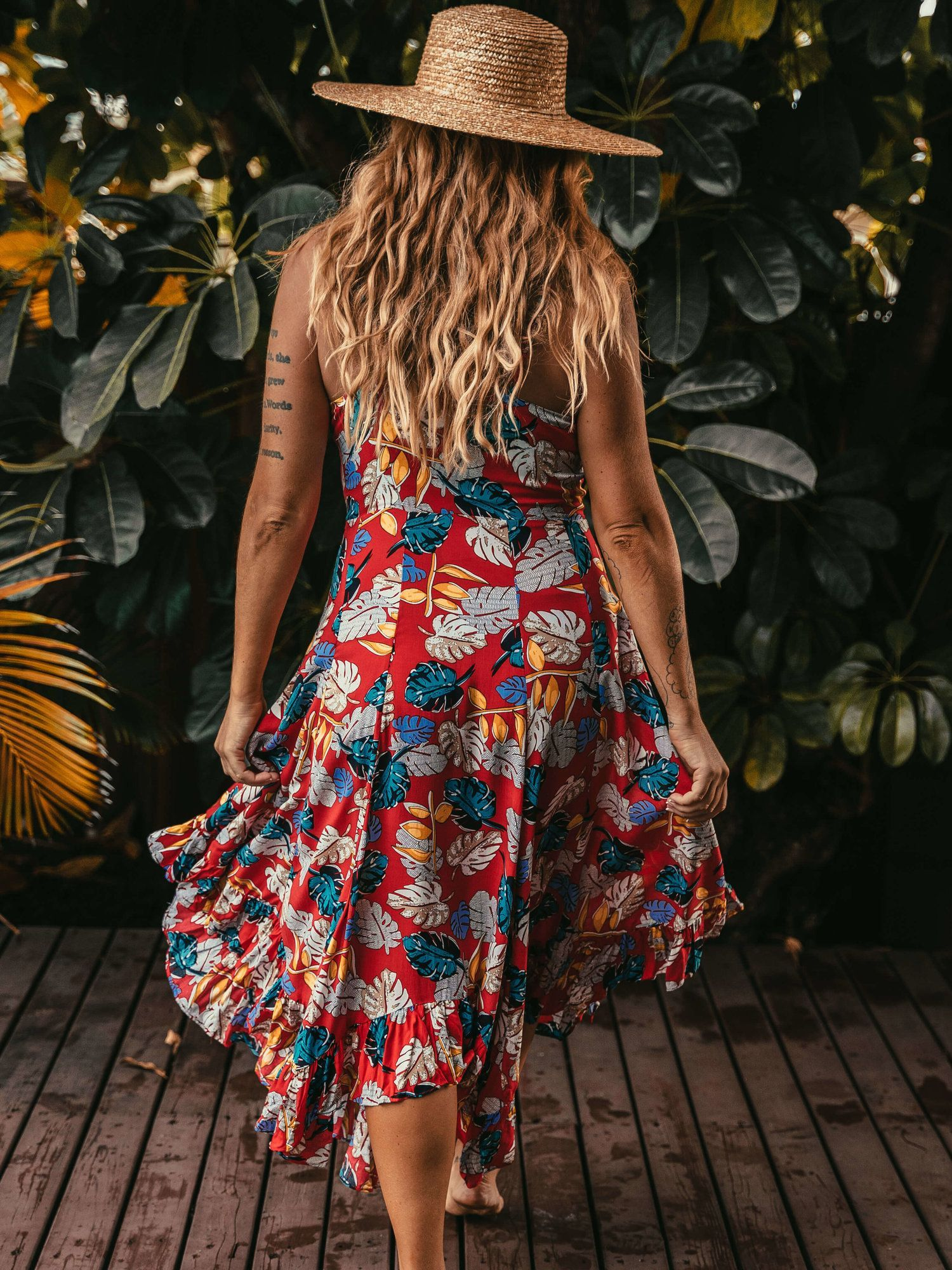 Jess Dress: Red Leaf — Shop | More Human