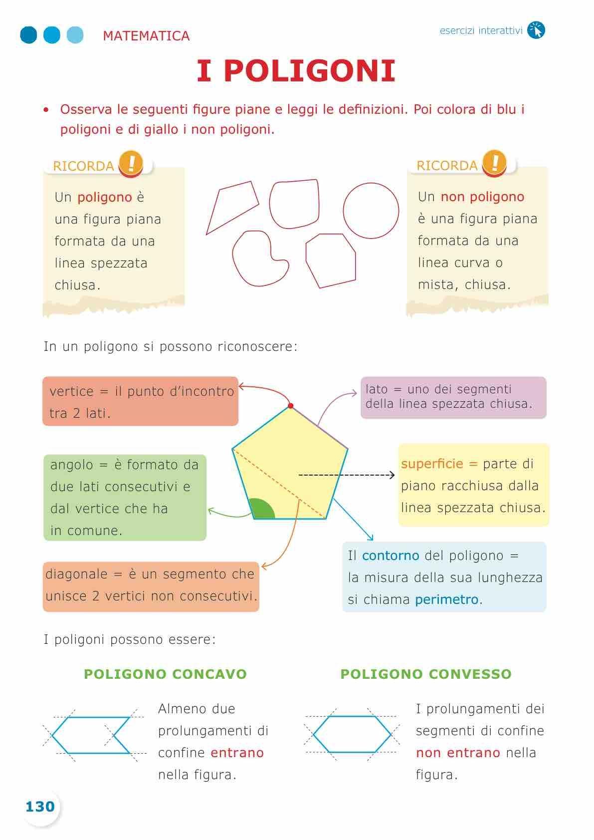 Sussidiario Semplice 4 Matematica Matematica Lezioni Di Geometria Attivita Di Matematica
