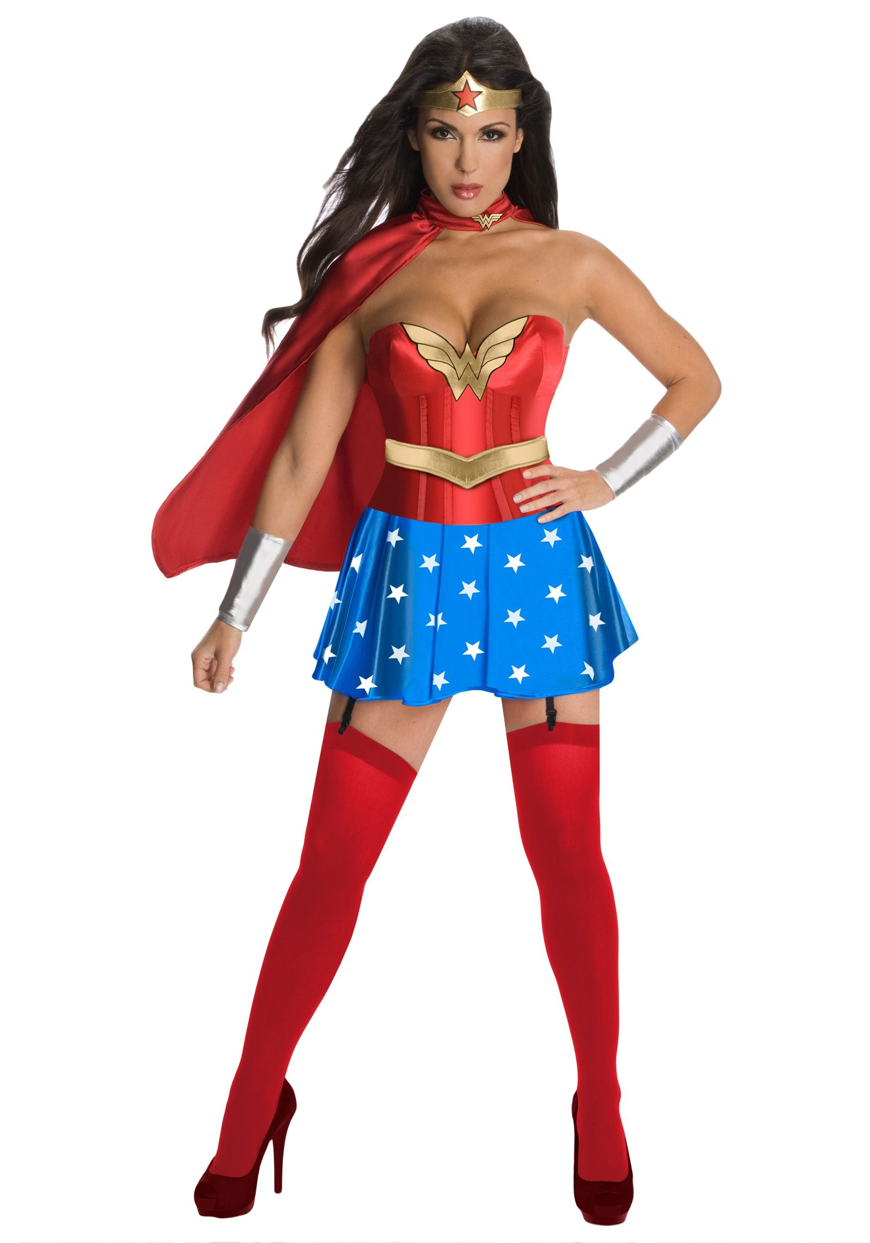 Wonder Woman Corset Costume   Corset costumes, Costumes and Woman ...