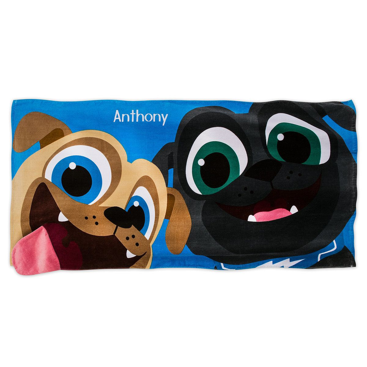 Puppy Dog Pals Beach Towel For Kids Personalizable Beach Towel