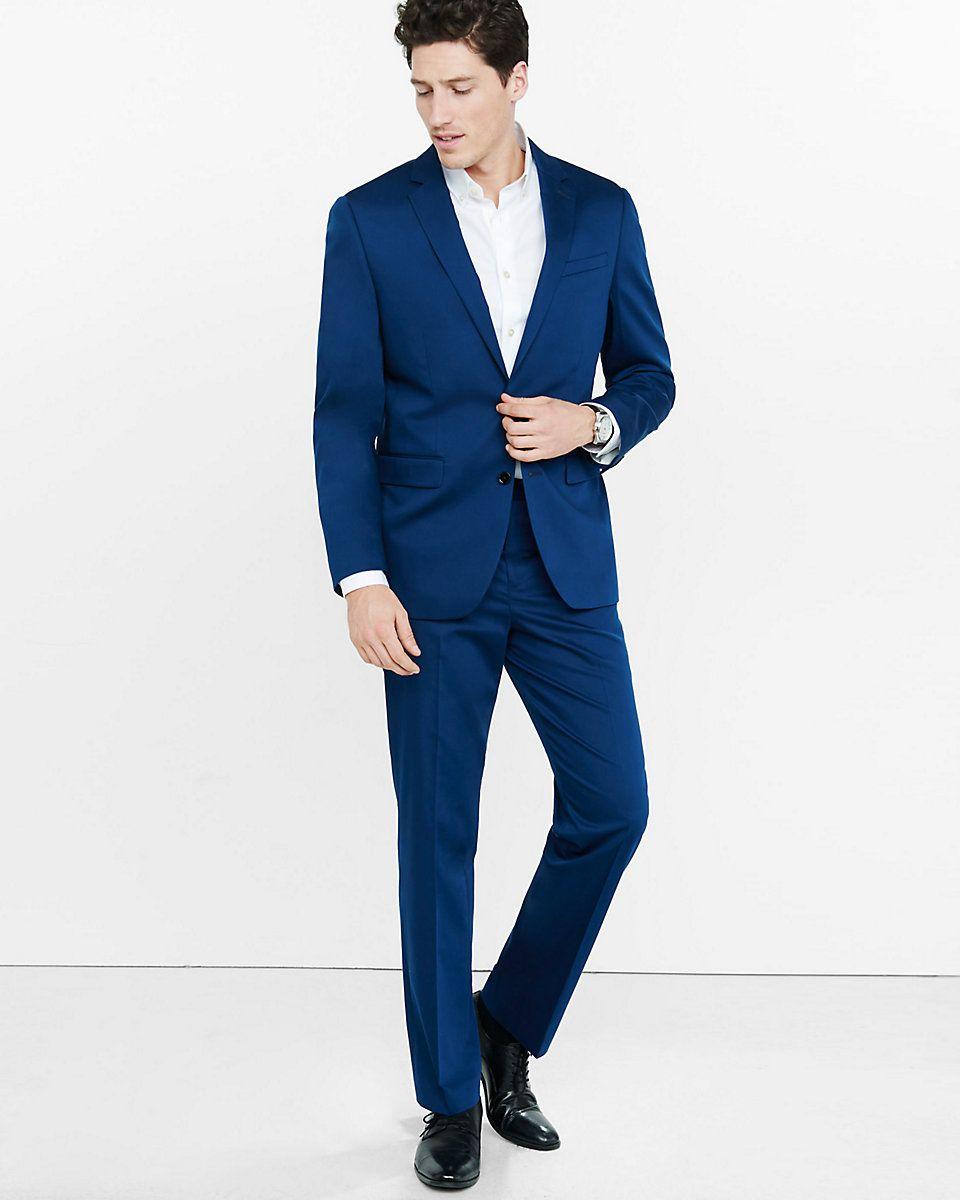 42 broek   95 euro vest navy blue cotton sateen producer suit ...